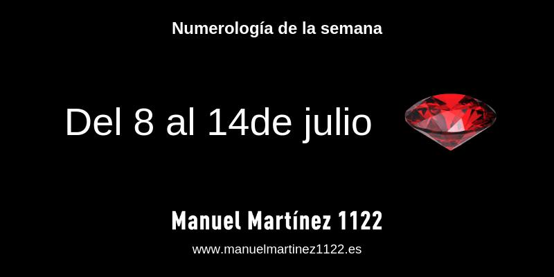 Tus números de la semana: del 8 al 14 de julio de 2019 - Blog de Manuel Martínez
