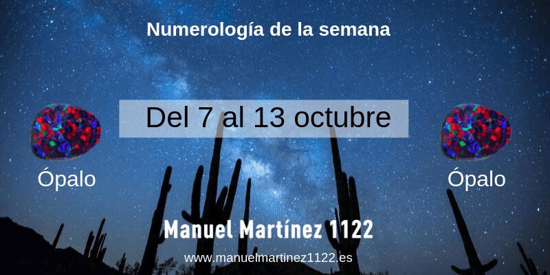 Numerología Manuel Martínez